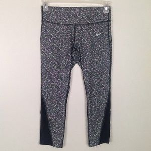 Nike Dri-fit Capri workout tights in small.